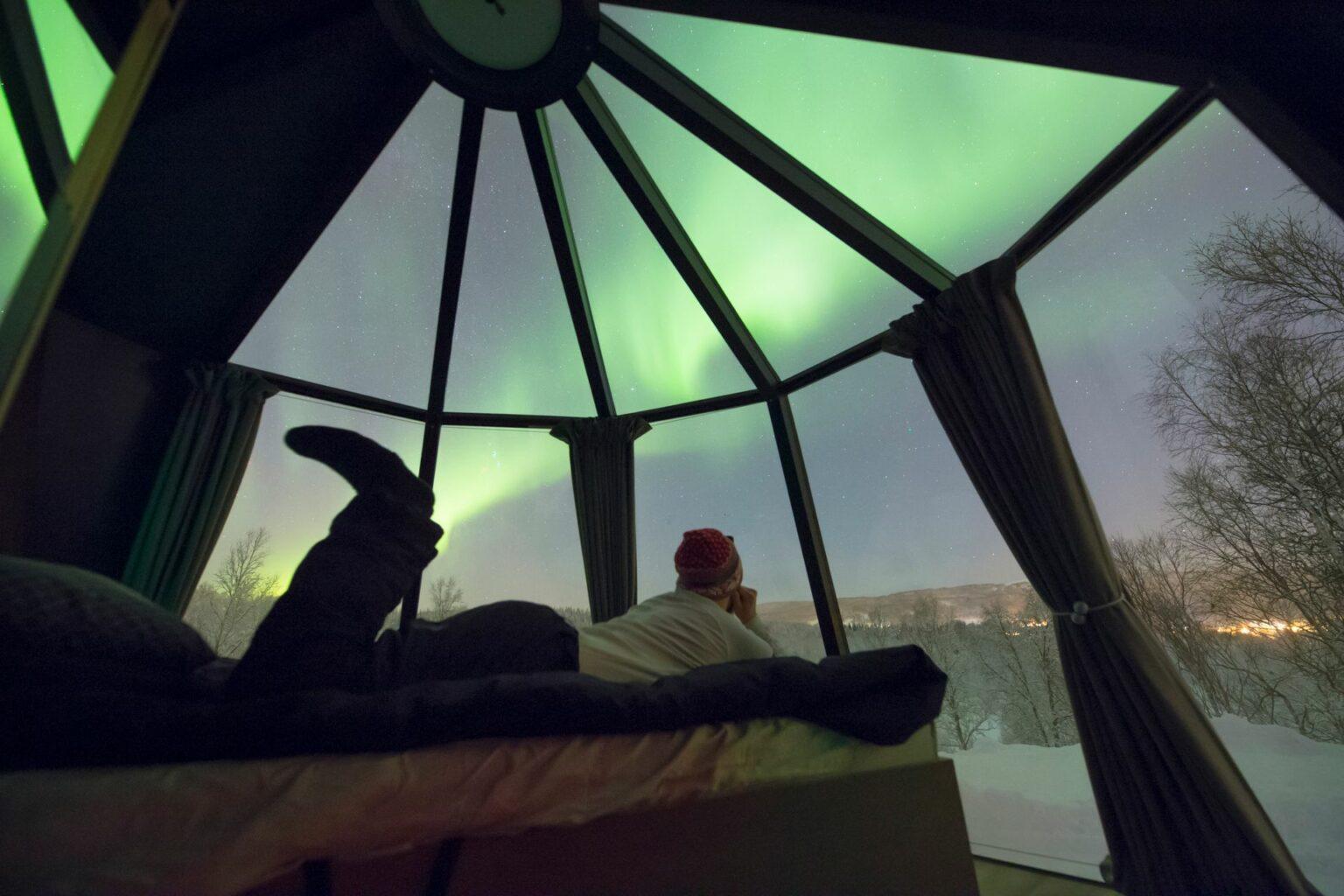 Aurorahut view