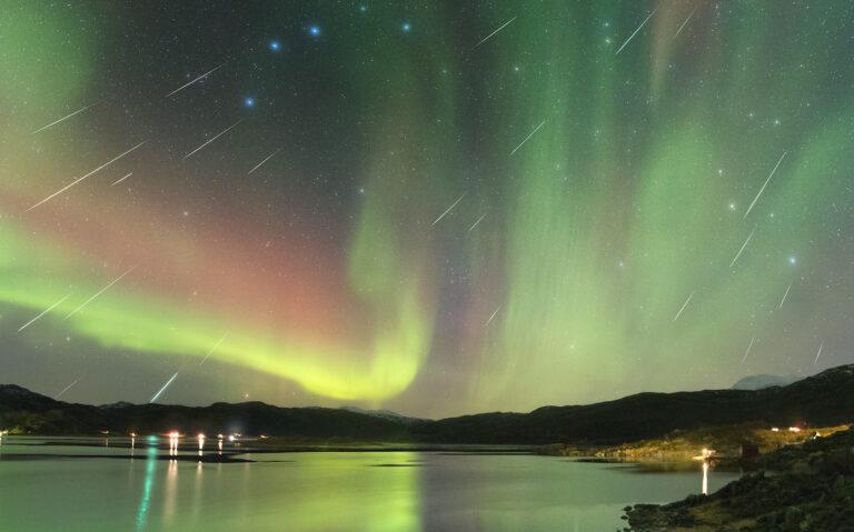 Incredible Geminid meteor shower 2020