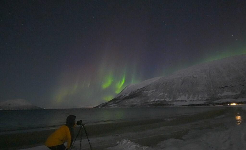 aurora borealis film real time
