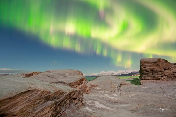 What is the best time of night to see the aurora?